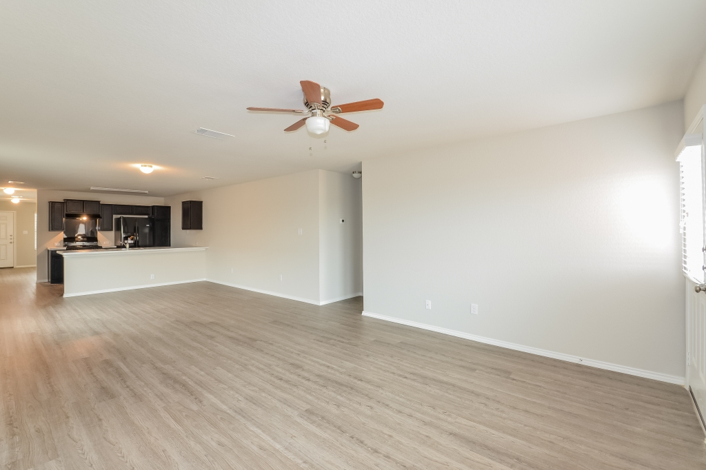 Vacant living room