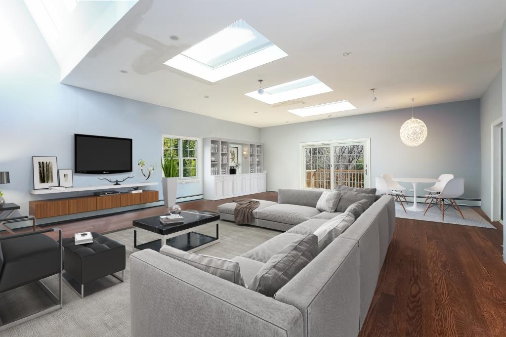 Virtual staging attic